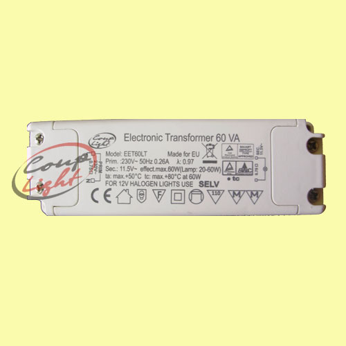 Електронен трансформатор 60W От Coup Light.com