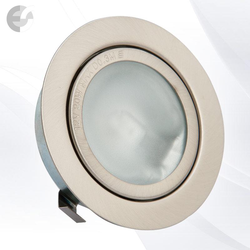 Луна - стационарна мебелна сат.никел От Coup Light.com