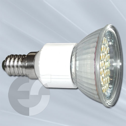 89506 Крушка 44хSMD-LED E14 45гр 3W/2700  От Coup Light.com