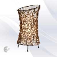 Настолна лампа с ратан RUTH - ръчно изработена От Coup Light.com
