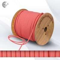 Текстилен кабел 2х0.75мм2 розов От Coup Light.com