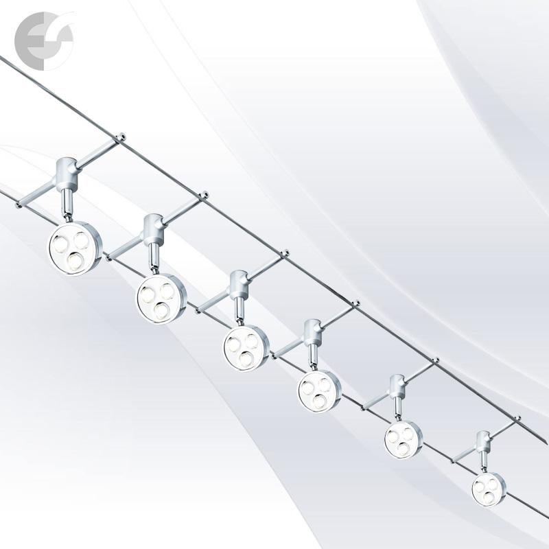 Спот - въжена система - TRACK SPOTLIGHTS - 6011-6CC От Coup Light.com