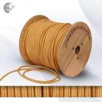 Текстилен кабел 2х0.75мм2 златен От Coup Light.com