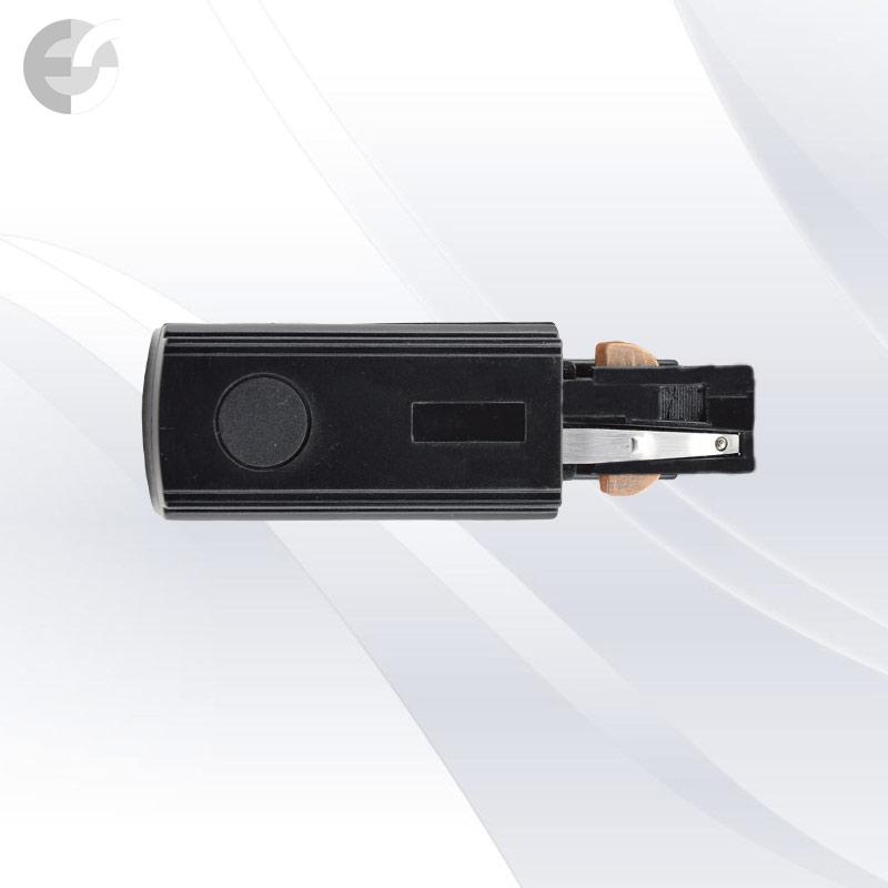 Захранване за ток-водеща 4-линейна шина черна От Coup Light.com