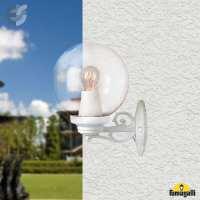 Влагозащитен бял градински аплик GLOBE 250 От Coup Light.com