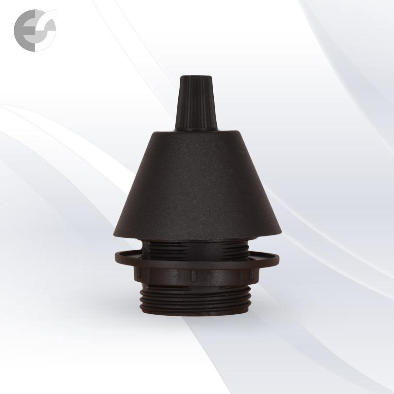 Конус PVC за пендел към фасунга черен От Coup Light.com