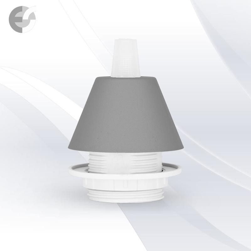 Конус PVC за пендел към фасунга сив От Coup Light.com