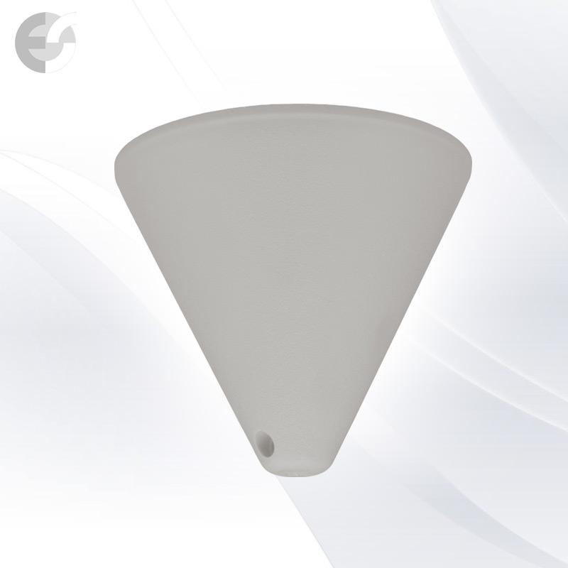 PVC конус за пендел към таван сив От Coup Light.com