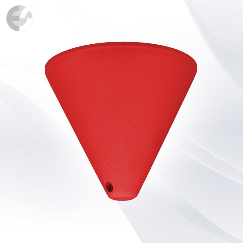 PVC конус за пендел към таван червен От Coup Light.com