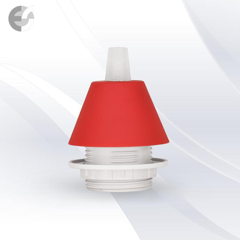 Конус PVC за пендел към фасунга червен От Coup Light.com