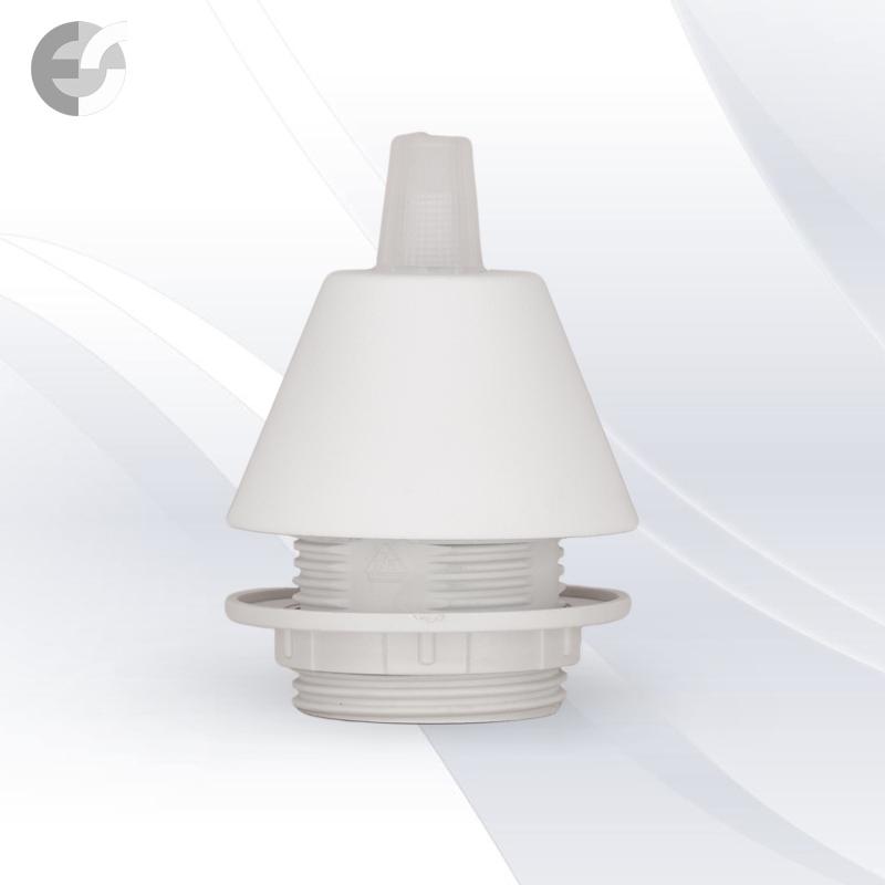 Конус PVC за пендел към фасунга бял От Coup Light.com