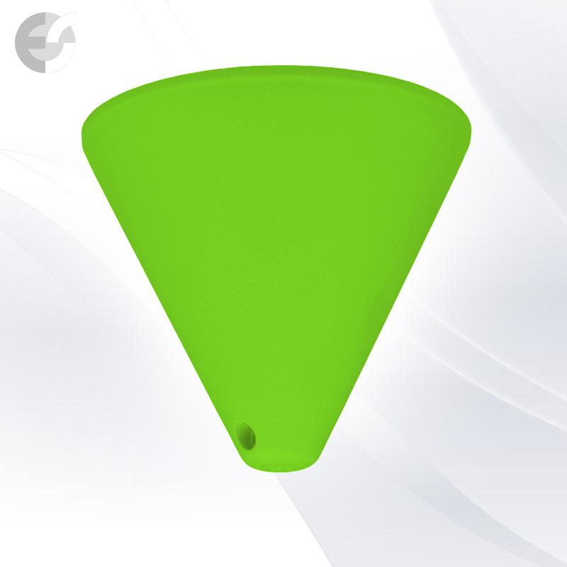 Конус PVC за пендел към таван светлозелен От Coup Light.com