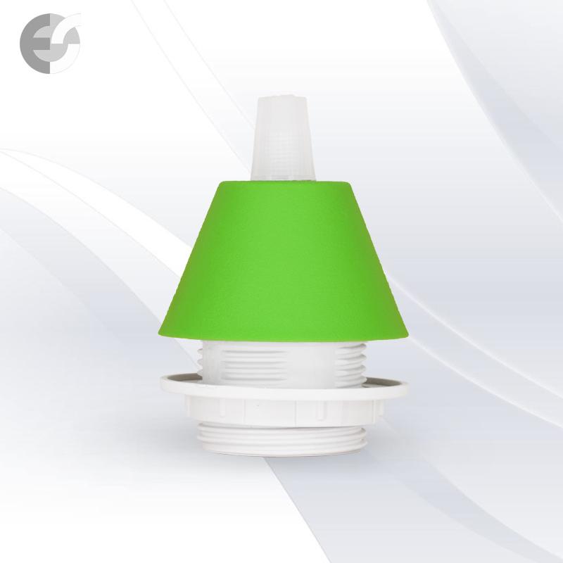 Конус PVC за пен-л към фасунга светло зелен От Coup Light.com