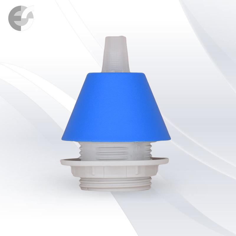 Конус PVC за пендел към фасунга син От Coup Light.com