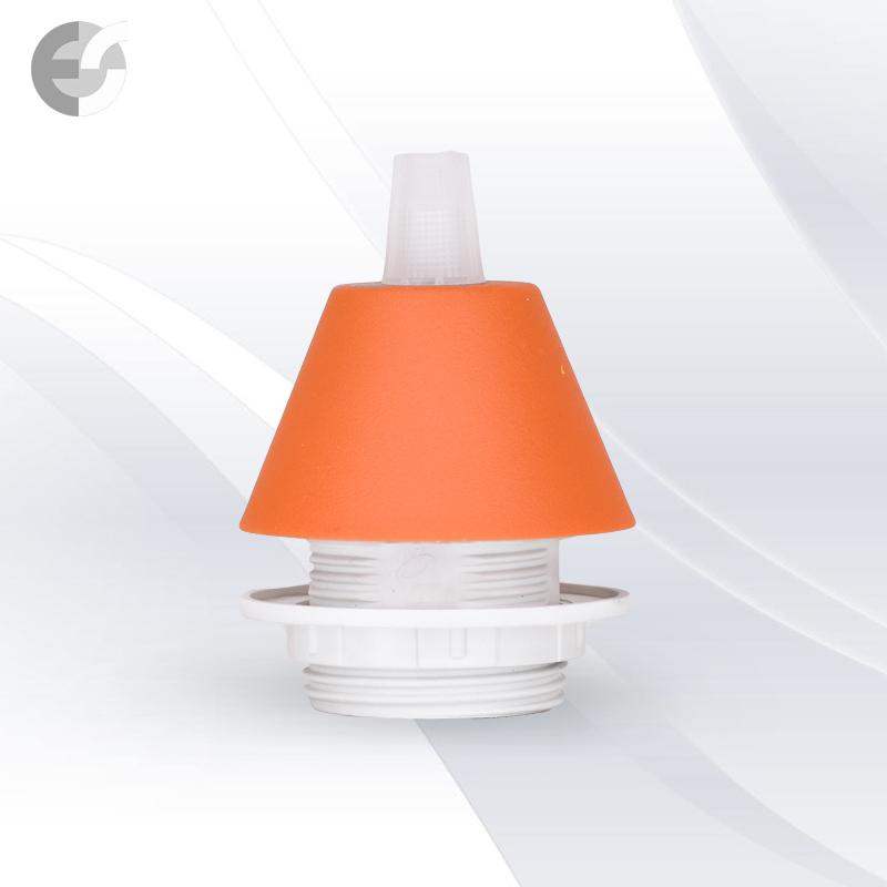 Конус PVC за пендел към фасунга оранжав От Coup Light.com