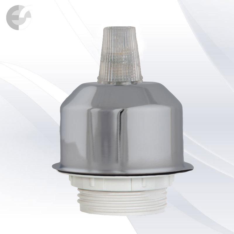 OneDown деоративна капачка матиран хром От Coup Light.com