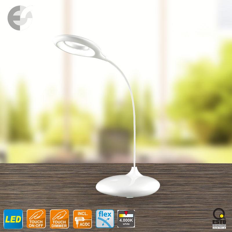 LED настолна лампа RIKU бяла - RIKU От Coup Light.com