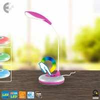 Настолна LED лампа KEIKO розова От Coup Light.com