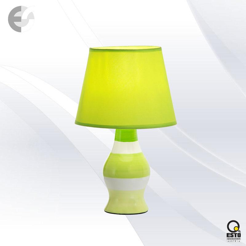 Нaстолна лампа CANDY в бяло и зелено От Coup Light.com