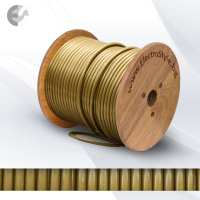 PVC златен кабел 2х0.75 От Coup Light.com