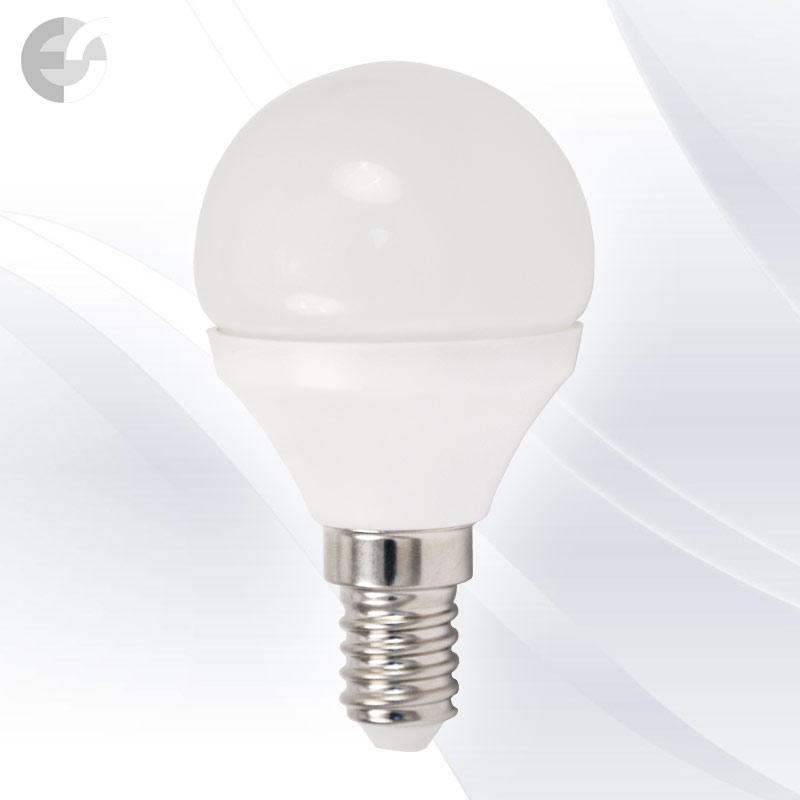 LED крушка сфера мини 4W E14 320Lm 4000K(89504)