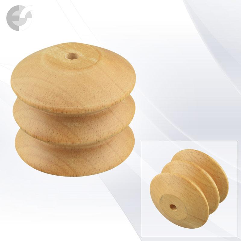 Дървен декор за пендел дискове D75(D7570)