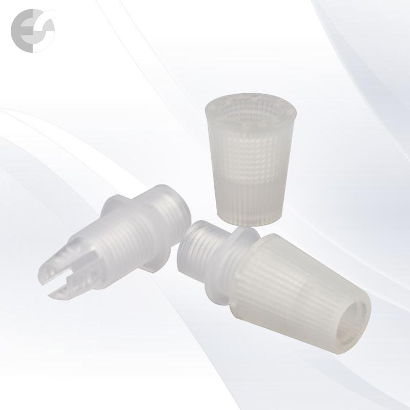 Стопер за кабел с муфа за фасунга прозрачен(00707)