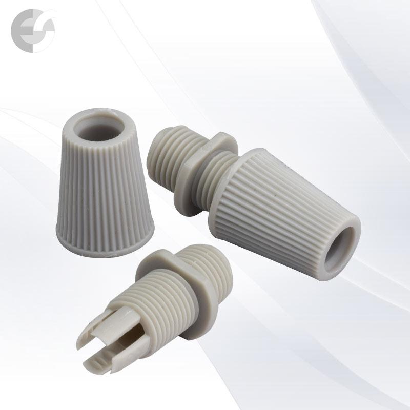 Стопер за кабел с муфа за фасунга сив От Coup Light.com