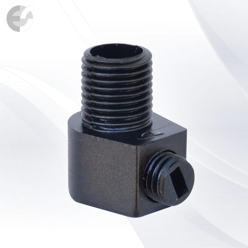 Стопер за кабел проходен + винт черен От Coup Light.com