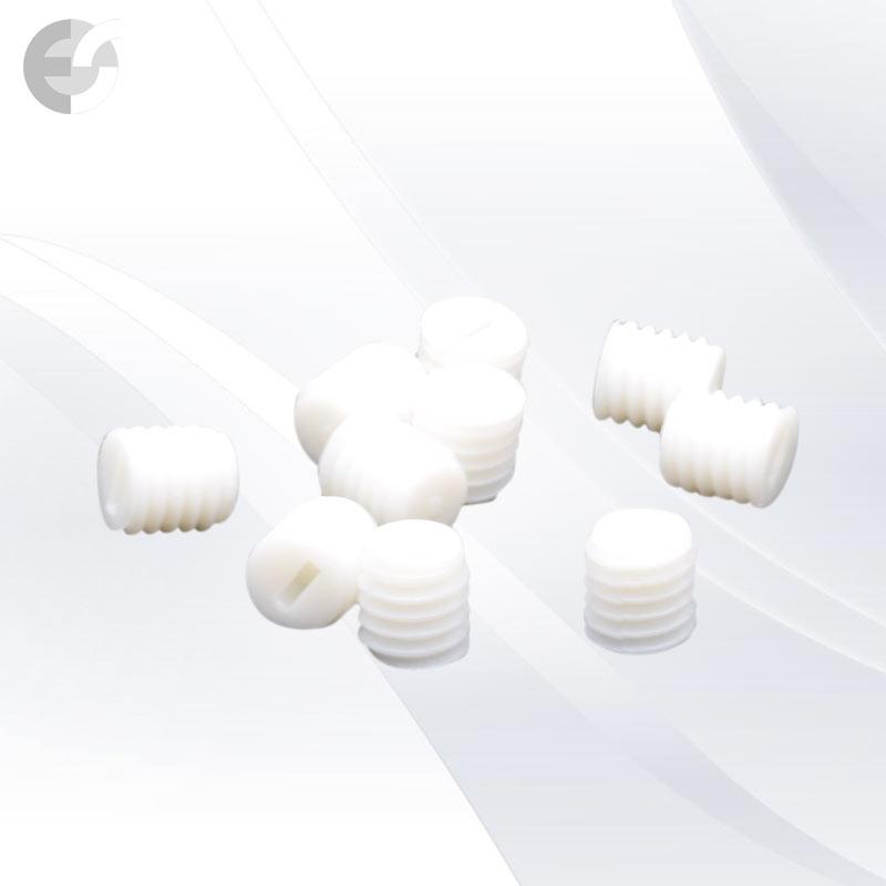 Бял PVC винт 6x6mm(0600-6x6)