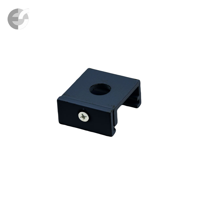Монтажна скоба за 4-линейна шина черно От Coup Light.com