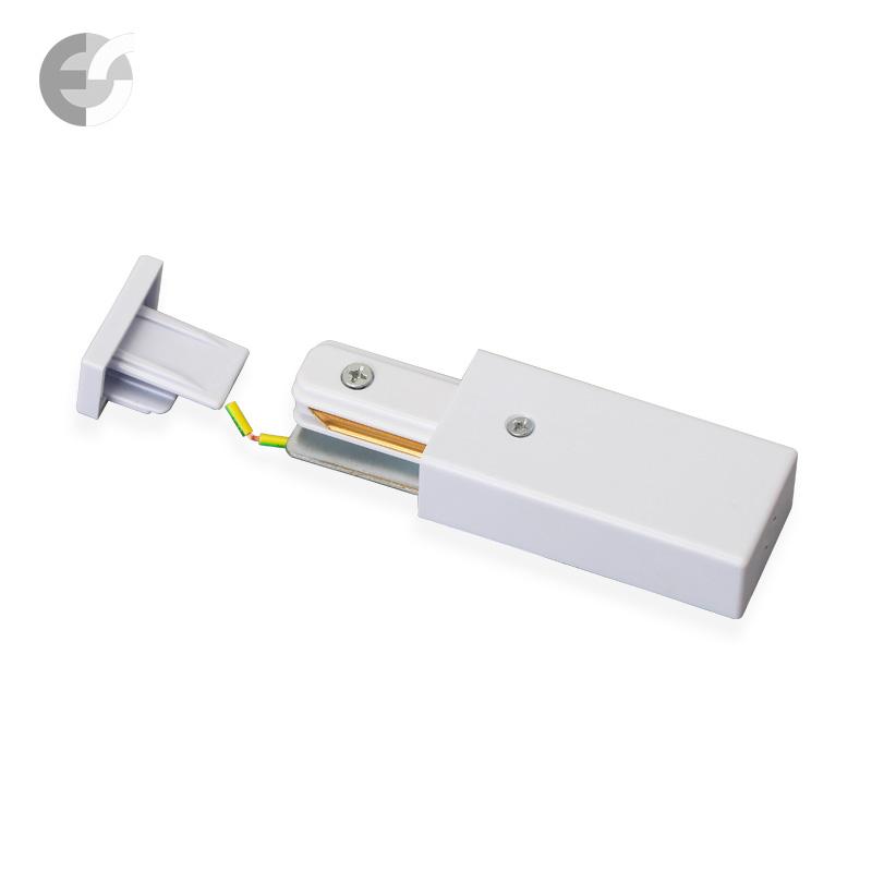 Захранване 2-линейна шина + end бяла От Coup Light.com