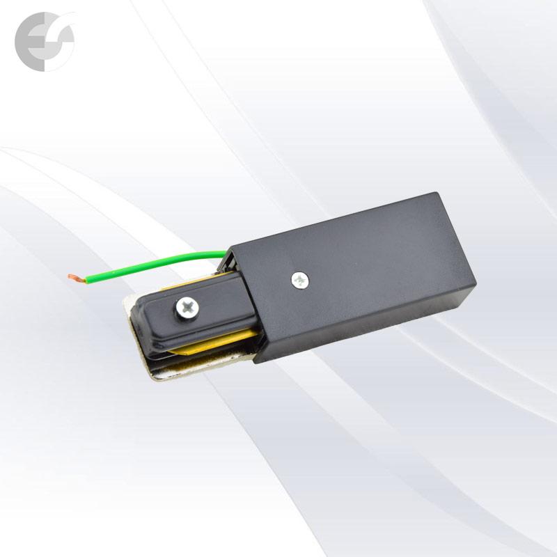 Захранване 2-линейна шина+end черна От Coup Light.com