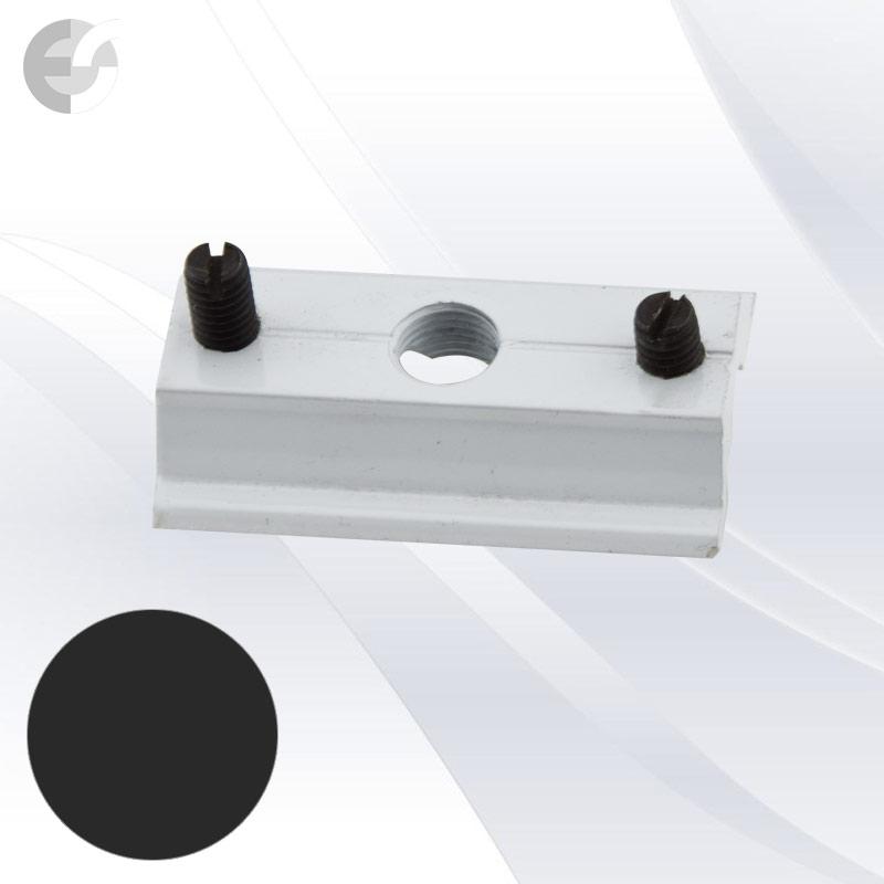 Монт скоба за 2-линейна шина черна От Coup Light.com