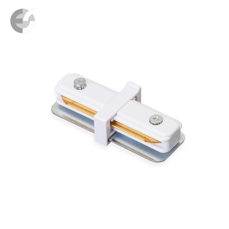 Линеен конекторен елемент за 2-линейна шина бяла От Coup Light.com