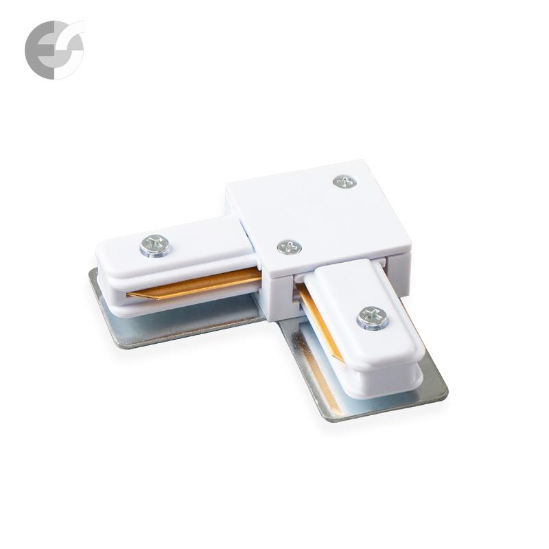 Ъглов конекторен елемент за 2-линейна шина бяла От Coup Light.com