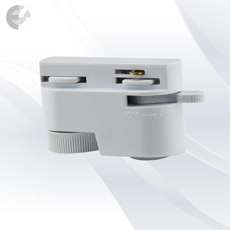 Адаптор за 2-линейна шина бял От Coup Light.com