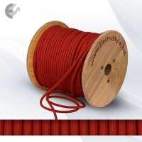 Текстилен кабел 2х0.75мм2 наситено червен От Coup Light.com