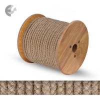 Текстилен кабел коноп кръгъл 2 x 0.75 mm2 От Coup Light.com