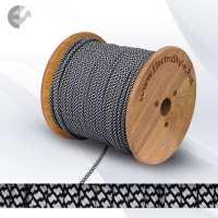 Текстилен кабел 2х0.75мм2 черно-бял От Coup Light.com