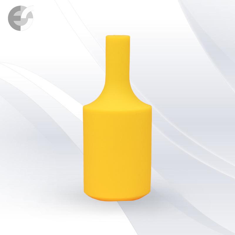 Силиконова декорация за фасунга FlexDown - жълта(0712YE)