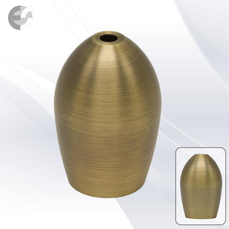 Bead декор за фасунга с цокъл Е27 в цвят античен месинг От Coup Light.com