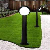 Влагозащитен стълб черен - LUCIA От Coup Light.com