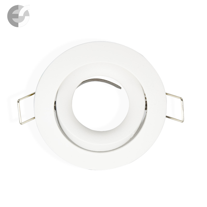 Бяла насочваща се луна за вграждане  От Coup Light.com