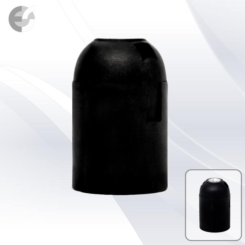 Фасунга черна Е27 права От Coup Light.com