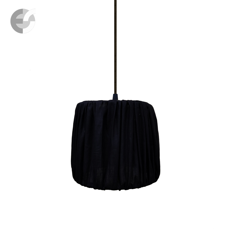 Полилей DRUM PLEAT PENDANTS 07140102BK-A6-093